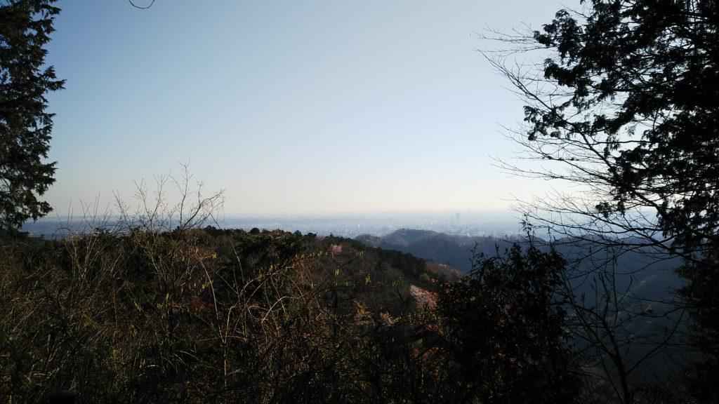 稲荷山 展望台からの眺め